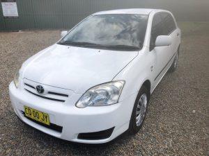 2005 Toyota Corolla Accent